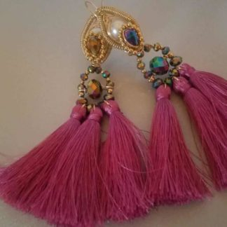 Mexican artisan earrings