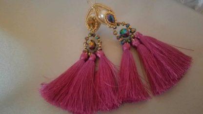 Mexican artisan earrings