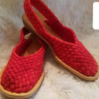 Sandalias artesanales de mexico.