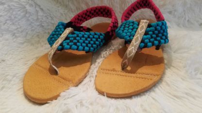 Zapatos tipicos de mexico. Handmade woven Mexican sandals