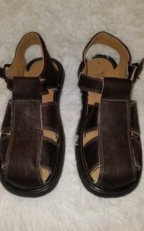 Sandalias tipicas mexicanas de hombre.