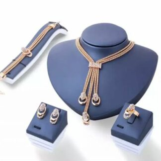 Stainless choker Necklace set