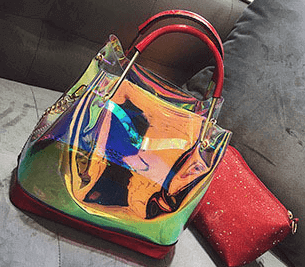 Fashionable transparent bag