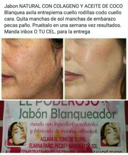 Bleaching soap El Poderoso