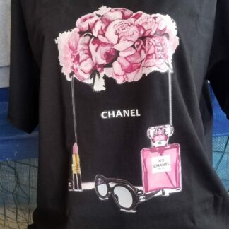 Mexican T-Shirt Chanel lentes.