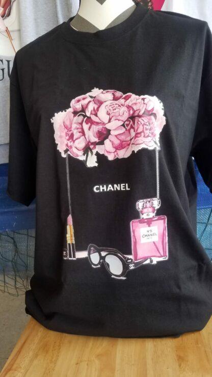 Mexican T-Shirt Chanel lentes.
