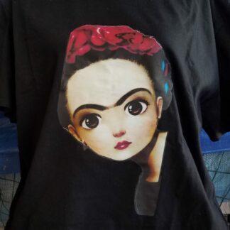 T-Shirt Frida Kahlo escondida.