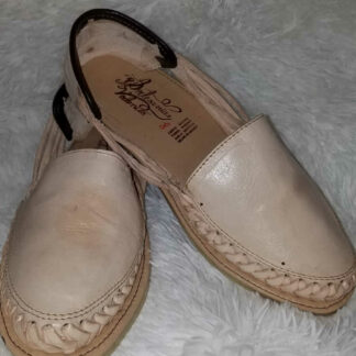 Typical Mexican leather sandals.