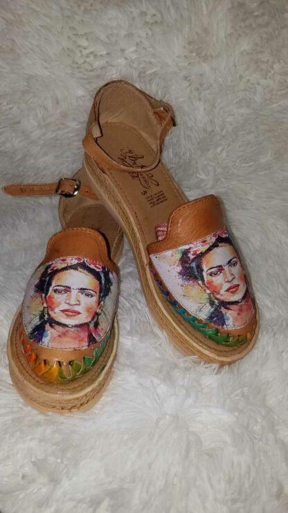 Huarache Frida Kahlo